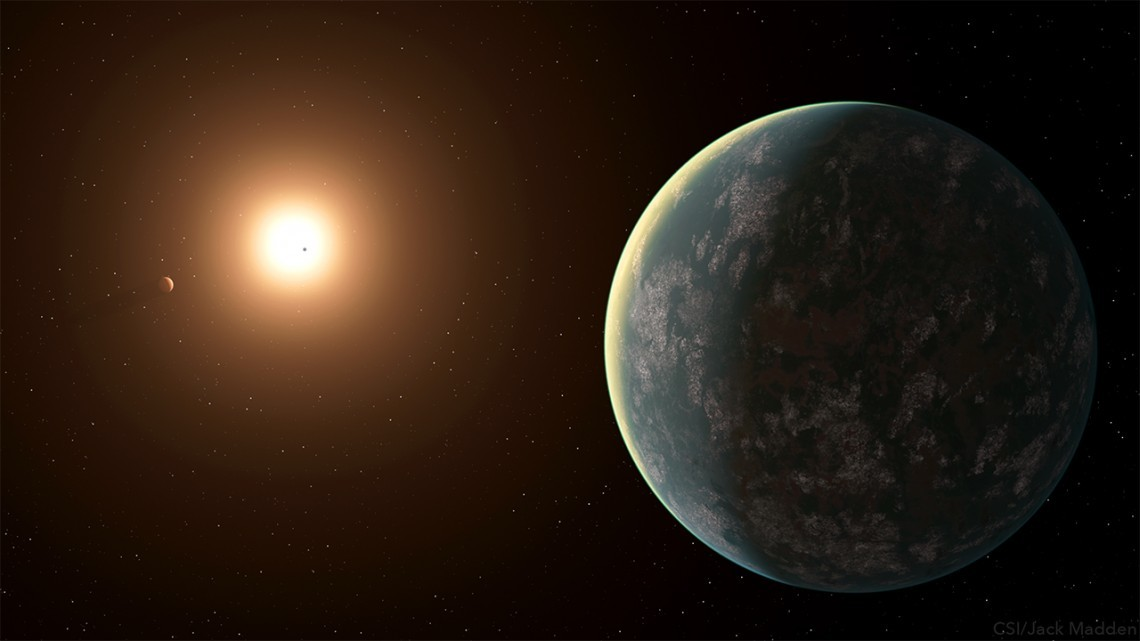 New Super-Earth found in our Back Yard